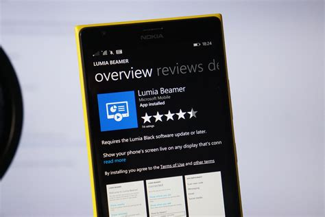 lumia app as promised microsoft shuts the lumia beamer app for