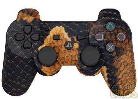 Ps4 Steep Reg 3 By Skygamez snake skin ps3 modded controller