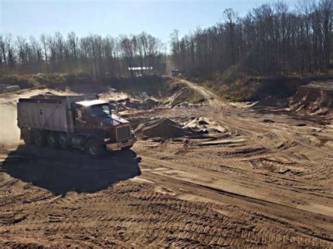 Sand Gravel Pit Kv Tech Construction Ashland Pit Gravel