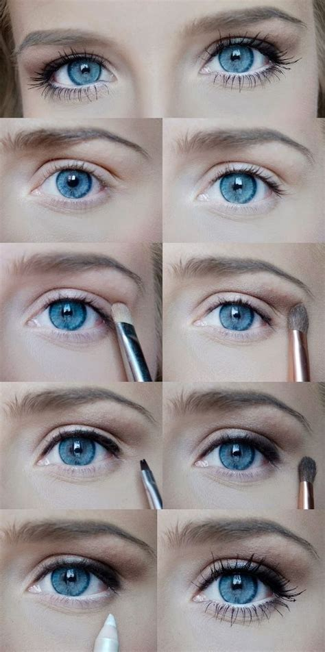natural makeup tutorial for blue eyes everyday makeup makeup looks and makeup on pinterest