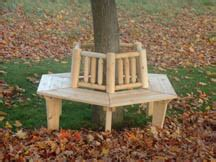 Small Tree Bench outdoor patio furniture and dining sets garden furniture