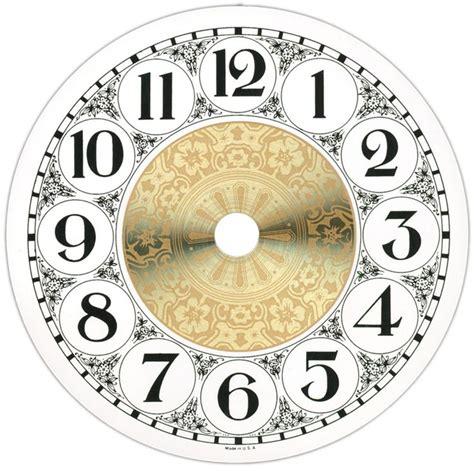 printable clock faces for crafts clock face szukaj w google zegary pinterest clock