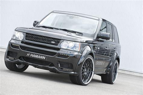 hamann land rover hamann turns the range rover sport into conqueror ii