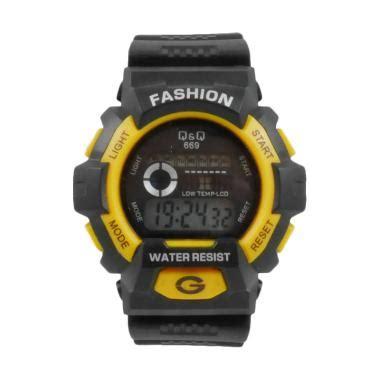 Jam Tangan Pria Wanita Q Q Q1320 Light Blue Terlaris jual q q 4451d digital jam tangan pria harga