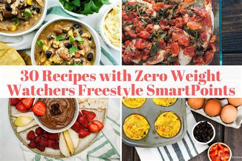 thirty zero freestyle point weight watchers recipes