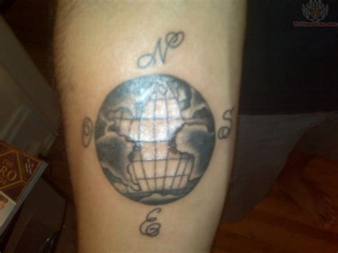 globe tattoo ink inspiration globecompass combos globes