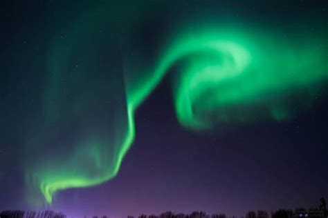 northern lights canada 2017 in photos solar produces bright northern lights
