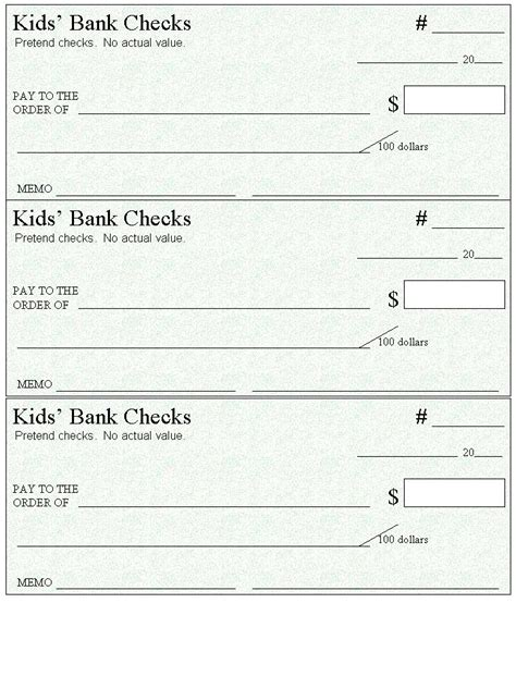 Print Your Own Checks Template Make Your Own Checks Template Absolutebookmarking
