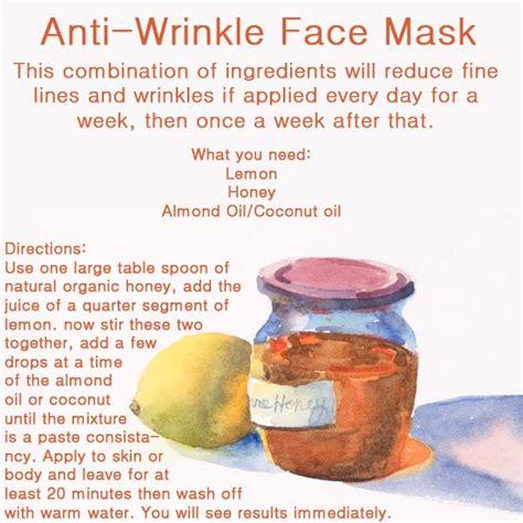 diy anti wrinkle mask anti wrinkle mask bobbies important information
