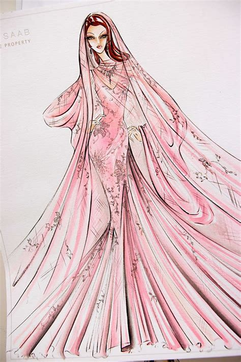 fashion illustration elie saab elie saab sketches bocetos vestidos fashion sketches