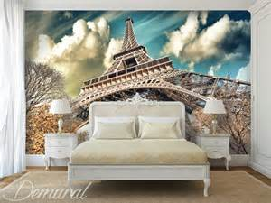 Paris Wall Murals under the roofs of paris wall murals and photo wallpapers eiffel tower