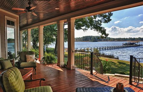 Tuscan Style Dining Room Porch Railing Designs Exterior Craftsman With Arts And