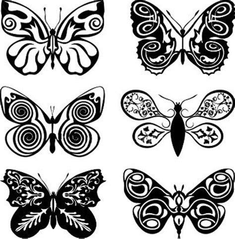 tatuaggi tattoo disegni farfalle tribali tatuaggi