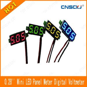 Sale Mini Volt Meter Dc 2 5v 30v Digital Voltmeter Display 2 Kabel china mini panel mount voltmeter dc 2 50 30v led digital voltage volt meter 0 28 quot china
