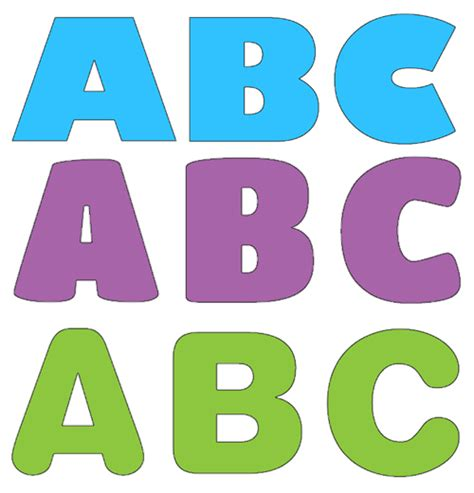 printable letters cut out 8 best images of free printable alphabet cutouts free