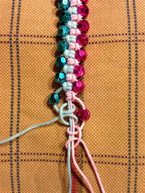 macrame pulseira macrame beaded bracelet pulseiras pulseras bisuteria