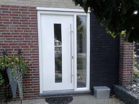 Gordijn Voordeur Tegen Tocht by Aluminium Deuren Limburg 187 Specialist In Aluminium