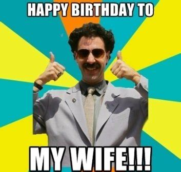 Wife Birthday Meme - wife happy birthday meme 2happybirthday