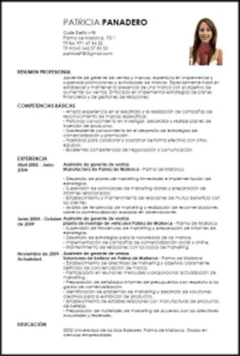 Modelo Curriculum Vitae Gerente Modelo Curriculum Vitae Asistente De Gerente De Ventas Y Marcas Livecareer