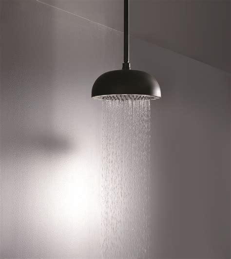 Black Shower by Dynamo Wcrd 300 Top Mounted Shower In Black Matte