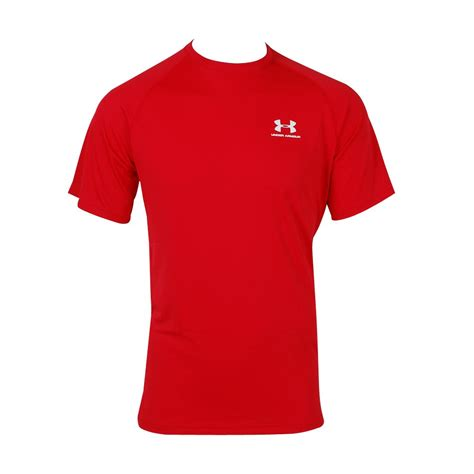 Ua T Shirt Kaos Armour tony pryce sports armour s tech shortsleeve t
