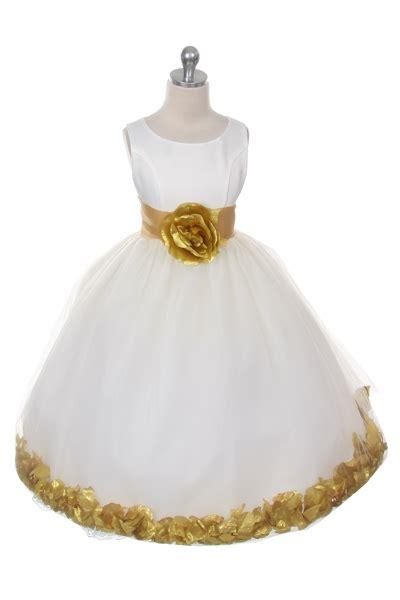 mbivgd flower girl dress style  choice  white