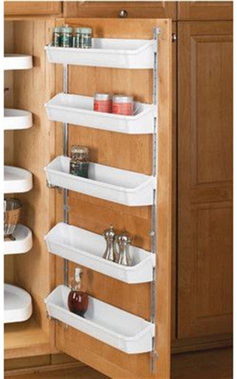 inside kitchen cabinet storage best 25 door shelves ideas on door storage small space storage and small bedroom