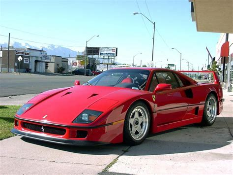 LATEST CARS: Ferrari F40 most expensive and powerful car