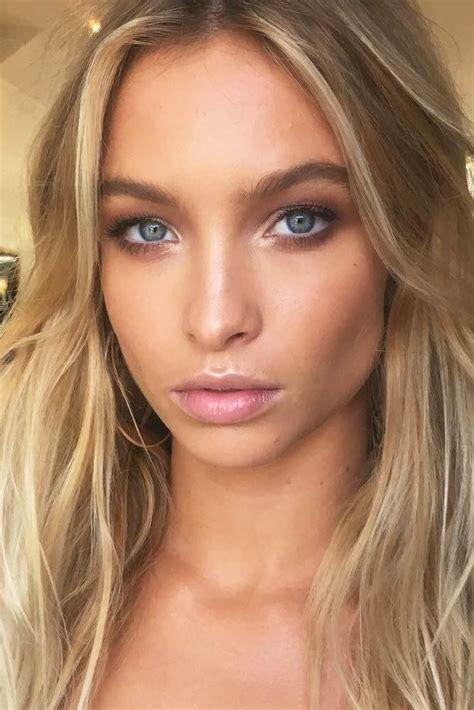 natural makeup tutorial for blondes blonde eyebrows tutorial how to get fuller natural