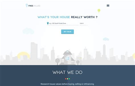 free house values css winner