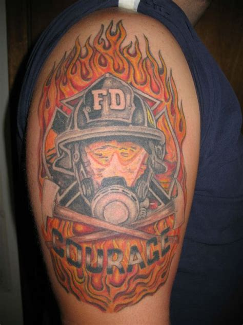 fireman mask tattoo pictures to pin on pinterest tattooskid