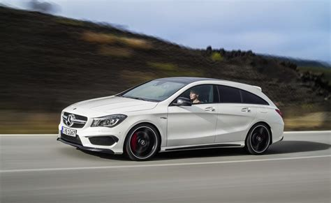 mercedes benz cla cla  amg shooting brake revealed