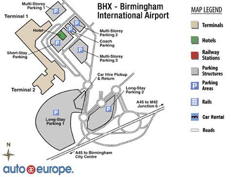 birmingham uk airport map auto europe car rentals site map autos post