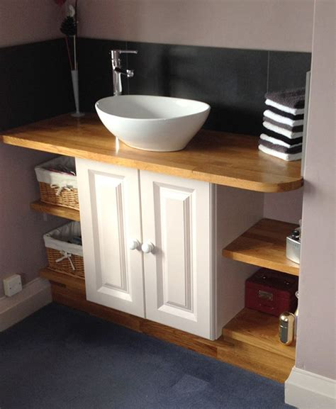 worktop bathroom choosing solid wood work surfaces for bathrooms worktop