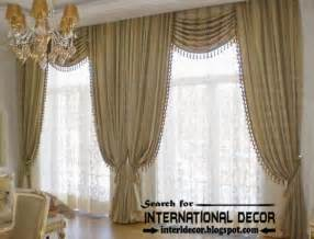 Swag Drapery Ideas Top Trends Living Room Curtain Styles Colors And Materials