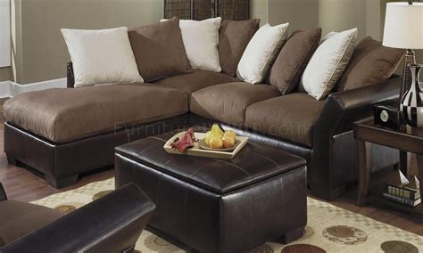 Leather And Suede Sofa Sectional Sofa Leather And Suede Leather And Suede Sectional Sofa