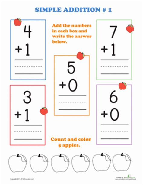 printable math flash cards kindergarten coloring pages kindergarten addition counting numbers