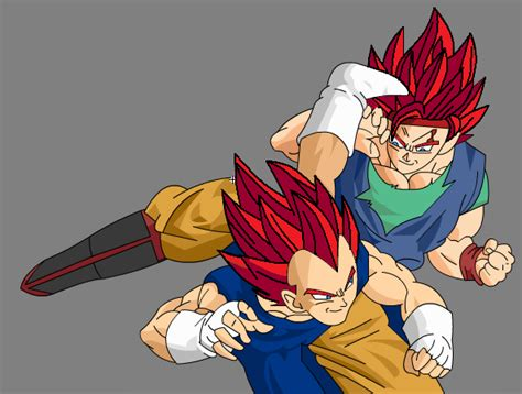 imagenes de goku jr de grande ssjg goku jr vs ssjg vegeta jr by superyuten10 by