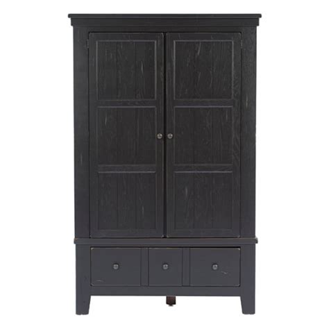 Broyhill Attic Heirloom Armoire broyhill attic heirloom black armoire by broyhill furniture