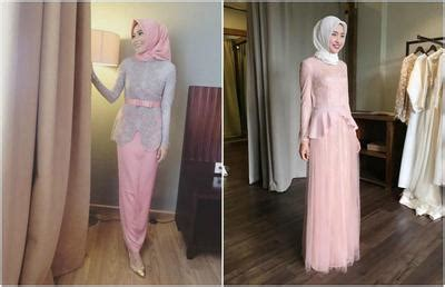desain gaun untuk perpisahan tips model kebaya muslim untuk kamu yang bertubuh pendek