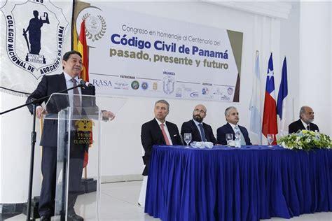 codigo civil de panama 2016 conmemoran los 100 a 241 os del c 243 digo civil de panam 225