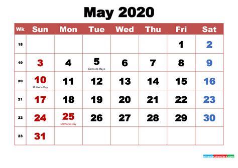 printable   calendar  holidays word