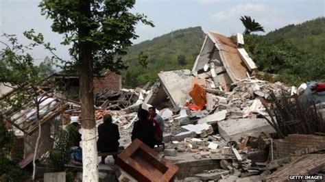 earthquake in china china quake kills scores in rural sichuan bbc news