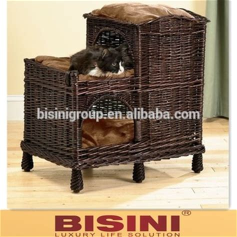 cat house buy rattan mulit tiered cat bed cat house bf10 r665 buy cat beds rattan cat beds fancy