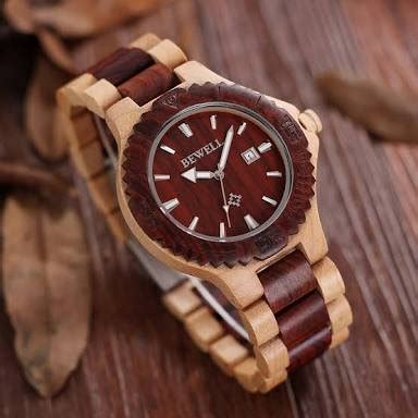 Jam Tangan Kayu Bewell W064a2 jual beli jam tangan kayu asli merk bewell baru