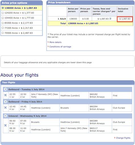 how to redeem the british airways companion certificate