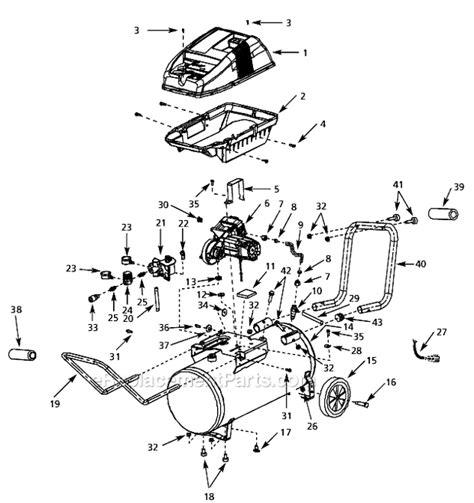 campbell hausfeld wl parts list  diagram