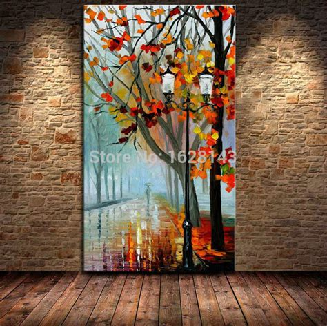 tree modern canvas art wall decor landscape oil painting wall art designs large abstract wall art big size modern