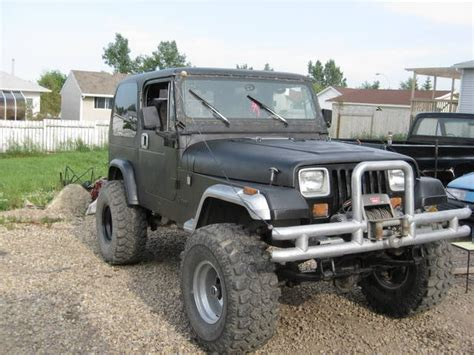 Jeeps For Sale Alberta 1991 Jeep Yj For Sale From Didsbury Alberta Calgary