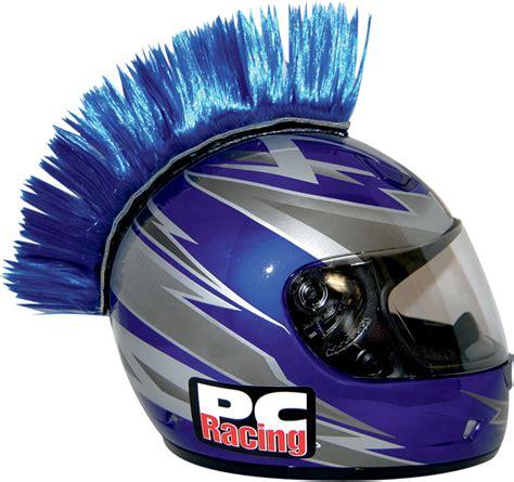 motocross helmet mohawk blue motorbike helmet www imgkid com the image kid has it